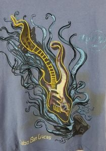 Hard Rock Cafe Cabo San Lucas Embroidered Tee